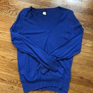 J. Crew v-neck sweater- XL